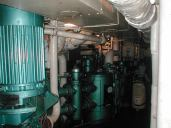 The sewage and water systems