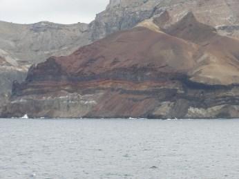 The beautiful cliffs near Spire Beach