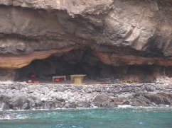 Picnic site in the caves