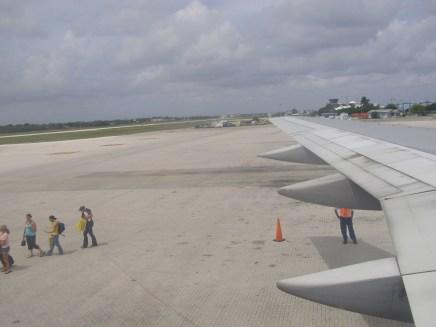 Last passengers loading