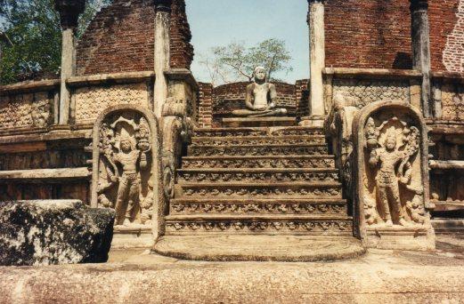 Vatadage stairs