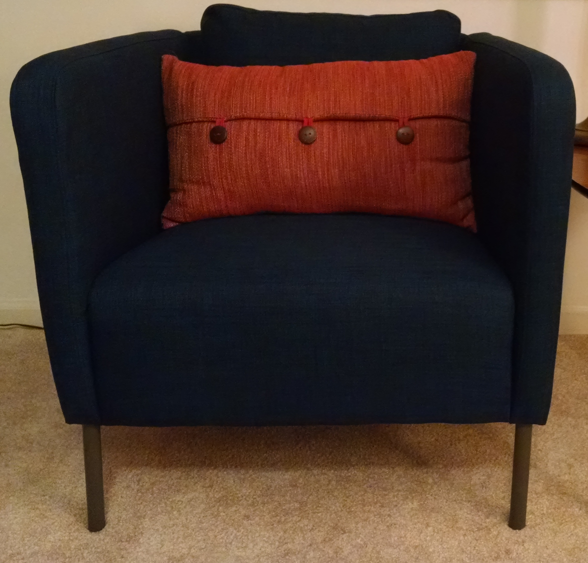 sofa chair ikea counter height chairs swivel replace legs for a couch and more alan pringle ekero with original steel
