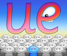 Fun With Phonics - Digraph - 'ue'