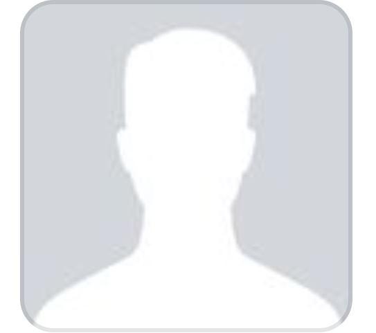 Blank male Facebook profile