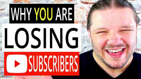 Why YOU Are LOSING Subscribers