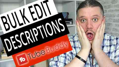 How To Bulk Edit Descriptions with TubeBuddy — Bulk Edit YouTube Videos, tube buddy tutorial,tubebuddy tutorial,youtube description tubebuddy,bulk update descriptions,bulk edit video description,how to bulk edit youtube descriptions,how to bulk edit youtube video descriptions,bulk edit descriptions on youtube,bulk edit description with tubebuddy,bulk edit youtube videos,bulk edit youtube description,Bulk Edit Descriptions with TubeBuddy,how to change links in description with tubebuddy,how to change multiple video descriptions,alanspicer