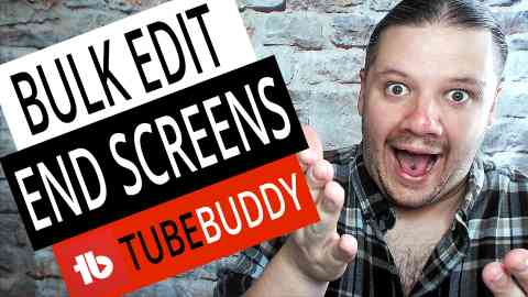 How To BULK EDIT END SCREENS on YouTube with TubeBuddy 2019, alan spicer,alanspicer,asyt,youtube end screen,end screen,end card,bulk add end screens,end card tutorial,bulk edit end screen,bulk edit,youtube bulk edit,bulk edit end cards,bulk edit youtube videos,how to bulk change youtube end screens,how to bulk edit end screens on youtube,how to bulk edit end cards on youtube,how to bulk edit end cards with tubebuddy,bulk edit with tubebuddy,tubebuddy,bulk edit tubebuddy,tubebuddy tutorial,bulk change end screens,bulk