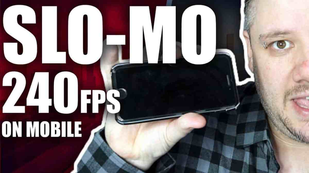How To Record In Slow Mo on iPhone 240FPS 1