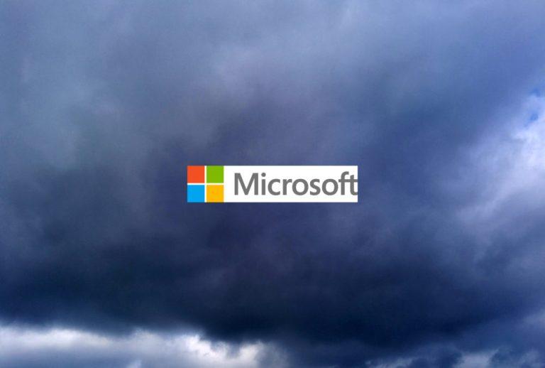 A dark cloud hanging over Microsoft