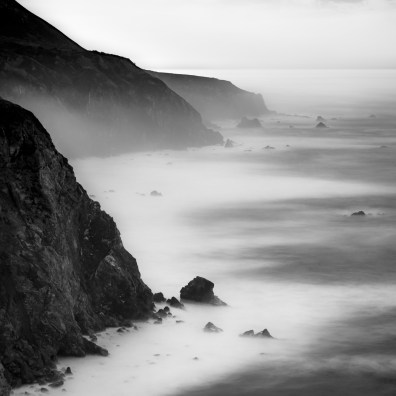 A View to Hurricane Point - Big Sur, CA
