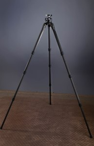 "This tripod is tall enough to be quite comfortable for anyone up to 6'1"", if they use a battery grip and RRS head or equal height head."