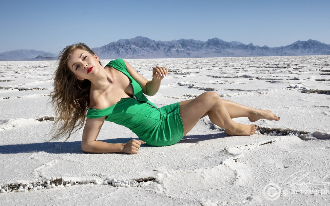Salt Flats Photo Shoot