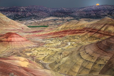 The John Day Painted Hills, Oregon