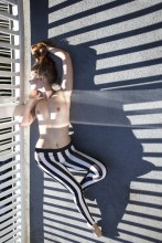 Stripes and stripes. Sienna Hayes.
