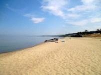 An almost empty beach