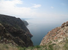 Looking west along Olkhon's northern shore