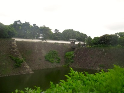 Wall and moat of the Imperial Palace
