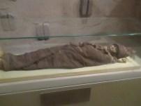 One of the Urumqi Mummies, Xinjiang Uyghur Regional Museum