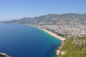 Stranden in Turkije
