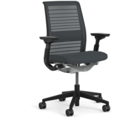 Office Chair Steel Base With Wheels Couch Set Ten-and-a-half Years Of My Steelcase Think And I Still Love It - Alan Zeichick