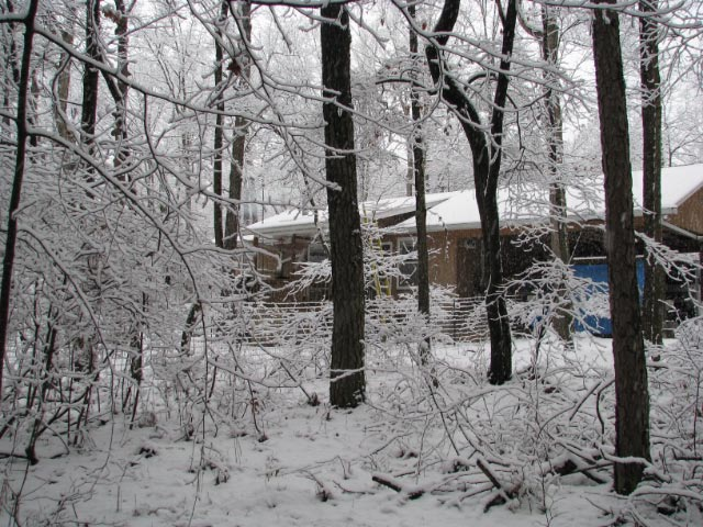 Sometimes it even snows!
