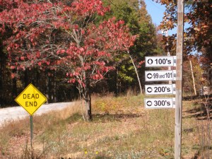 Lot direction Signs