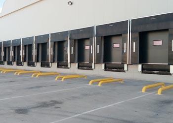 instalaciones muelle de carga hidráulico