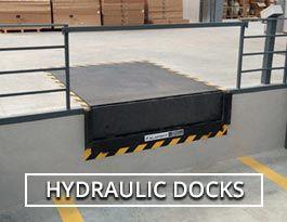 hydraulic dock levellers