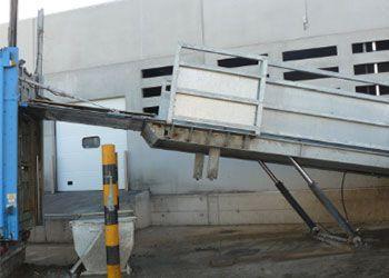 rampas de carga a medida