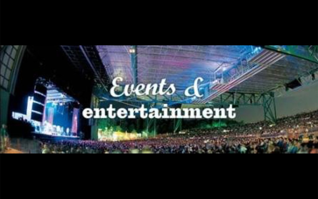 Upcoming Events and Entertainment (beginning Oct. 16)