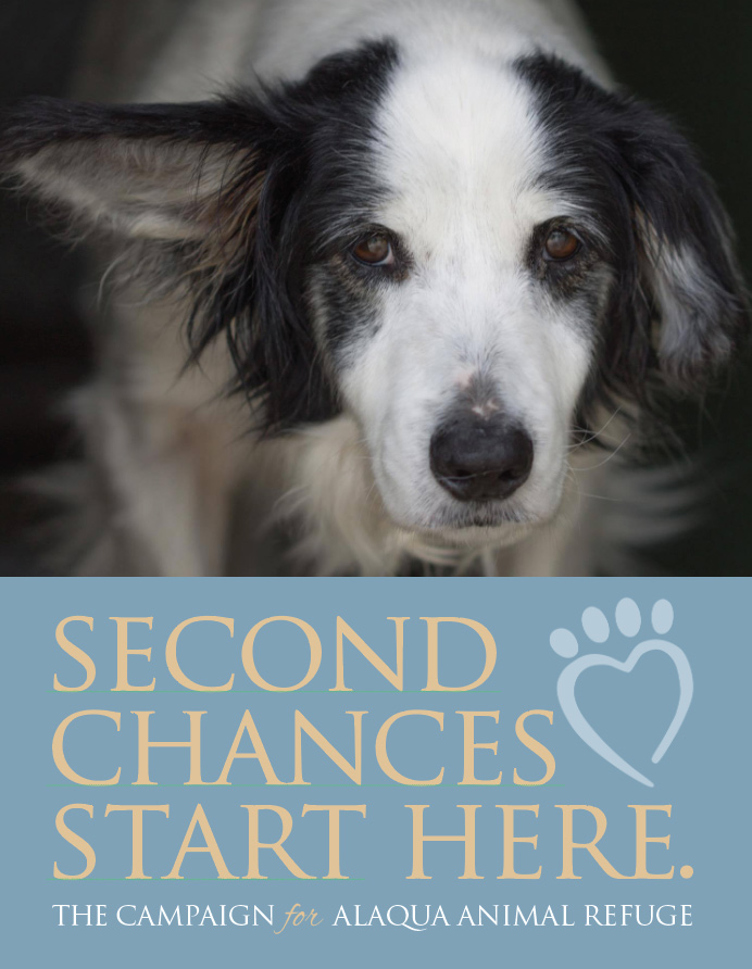 Second Chances Start Here campaign sign