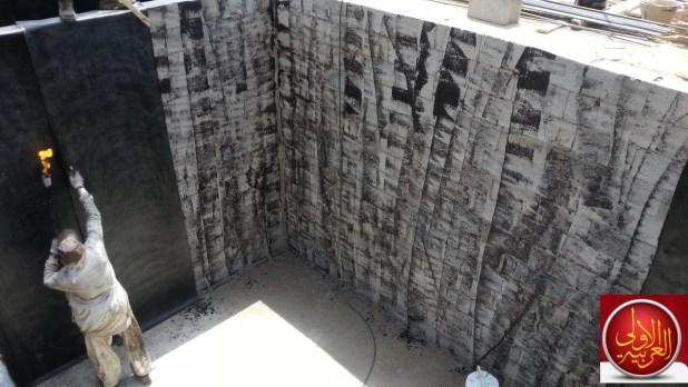 عزل الخزان بعد التلييس واهمية تلييس وعزل الخزان