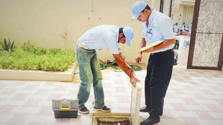 تكنولوجيا اعمال اصلاح مشكلة تسربات المياه في القبو والخزانات بالرياض