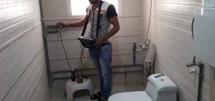 شركة كشف تسربات المياه بالغاط