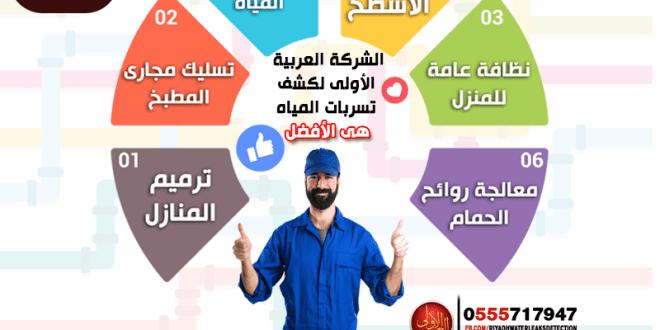 شركة كشف تسربات المياه شرق الرياض كشف تسربات المياه شرق الرياض