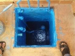 شركة عزل خزانات المياه بالرياض 0555717947 عزل الخزان الأرضي بمادة الأبوكسي