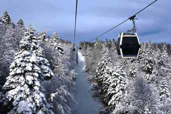 جبل اولداغ في بورصة - السياحة الشتوية في تركيا (1)