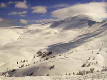 جبل اولداغ في بورصة -