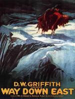 Affiche d'A travers l'orage (1920)
