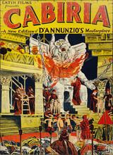 Affiche de Cabiria (1914)