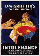 Affiche d'Intolerance (1916)