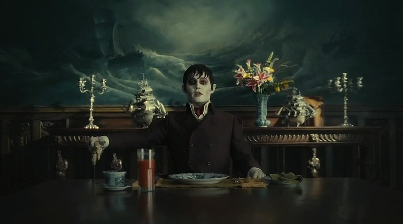 Johnny Depp dans Dark Shadows