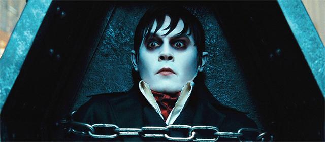 Johnny Depp dans Dark Shadows (2012)