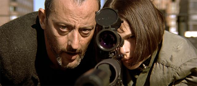 Jean Reno et Natalie Portman dans Léon (1994)