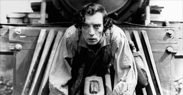 Buster Keaton dans Le Mécano de la General