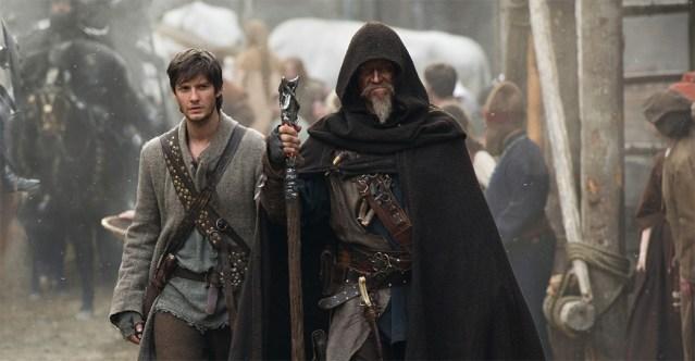 Ben Barnes et Jeff Bridges dans Le Septième Fils