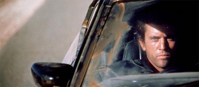 Mel Gibson dans Mad Max : Le Défi (1982)