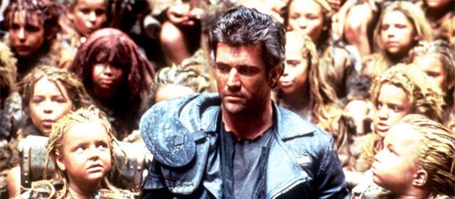 Mel Gibson dans Mad Max : Au-delà du dôme de tonnerre (1985)
