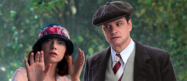 Emma Stone et Colin Firth dans Magic in the moonlight (2014)
