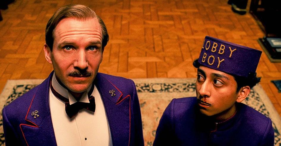 Ralph Fiennes et Tony Revolori dans The Grand Budapest Hotel